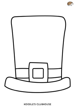 St.Patrick's Day Top Hat Arts and Crafts