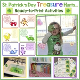 St. Patrick's Day Activities & Treasure Hunt (Ready-to-Print)