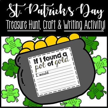 St. Patrick's Day Treasure Hunt and Craft