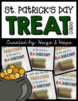 St. Patrick's Day Treat Cards