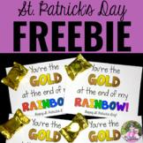 St. Patrick's Day Treat Tag FREEBIE
