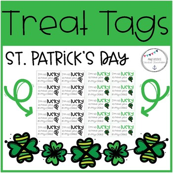 St. Patrick's Day Treat Tags