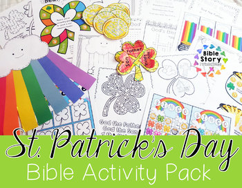 St. Patrick's Day Bible Activity Pack