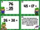 St. Patrick's Day Two Digit Addition and Subtraction Task Cards with QR Codes
