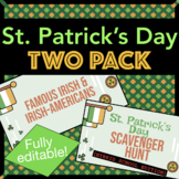 St. Patrick's Day Two Pack: Real Irish Heroes & Festive Scavenger Hunt