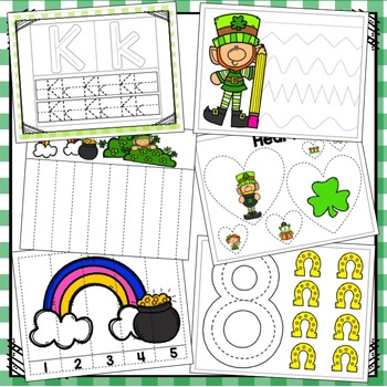 St. Patrick's Day Ultimate Preschool Packet