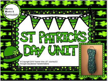 St. Patrick's Day Unit (Literacy and Math Activities)