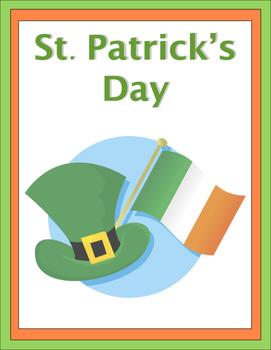 St. Patrick's Day Unit