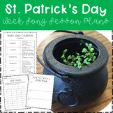 St. Patrick's Day Cross-curricular Lesson Plans