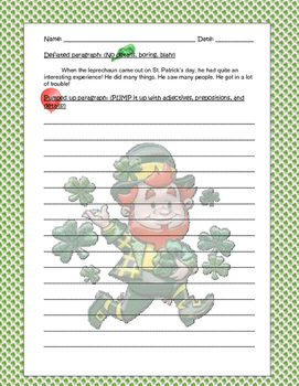 St. Patrick's Day Unit--FULL DAY of activities!!!