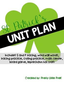 St. Patrick's Day Unit Plan