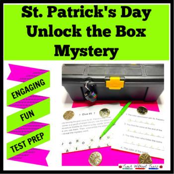 St. Patrick's Day Unlock the Box Mystery