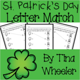 St. Patrick's Day Uppercase and Lowercase Letter Match