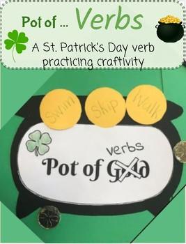 St. Patrick's Day Verb Craftivity