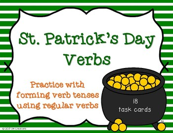 Verbs Tenses {St. Patrick's Day}