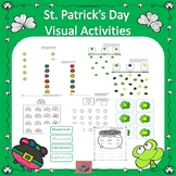St. Patrick's Day Visual Activities Occupational Therapy
