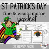 St. Patrick's Day Fine & Visual Motor Packet
