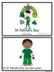 St. Patrick's Day Visuals for Special Education