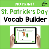 St. Patrick's Day Vocabulary Builder