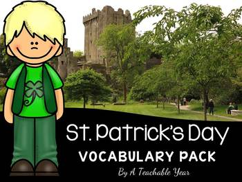 St. Patrick´s Day - Vocabulary Pack