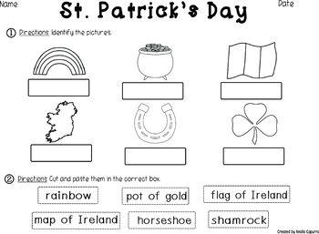 St. Patrick's Day - Vocabulary Pack