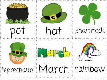 St. Patrick's Day Vocabulary Words