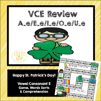 St. Patrick's Day Vowel Consonant E Game