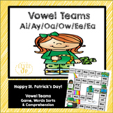 St. Patrick's Day Vowel Team Phonics Game