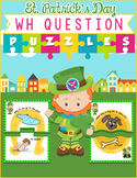 """St. Patrick's Day """"WH"""" Question Puzzles"""