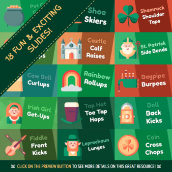 St. Patrick's Day Warmup | Physical Education Warmup