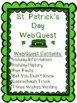 St. Patrick's Day WebQuest - Engaging Internet Activity {Includes Google Slides}