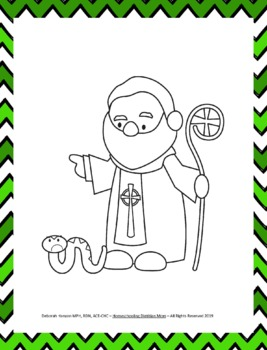 St. Patrick's Day: Who Was St. Patrick? Fun Activities Pack