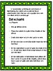 St. Patrick's Day Wilson Fry Sight word Reading Game