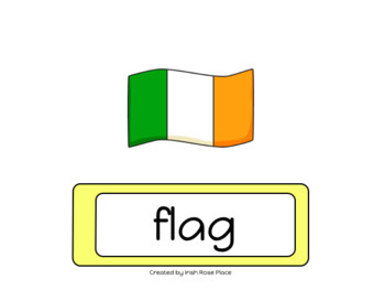 St. Patrick's Day Word Book (Adapted Book)