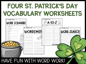 St. Patrick's Day Word Games