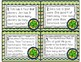 St. Patrick's Day Word Problem Task Cards: Sums to 20
