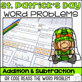 St. Patrick's Day Word Problem Worksheets