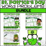 St. Patrick's Day Word Problems Bundle