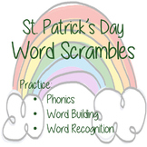 St. Patrick's Day Word Scramble