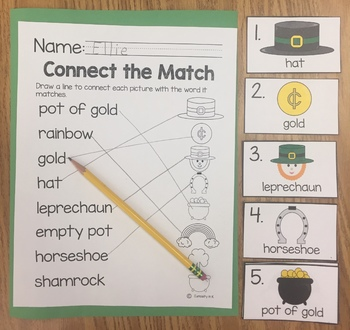 St. Patrick's Day Word Work
