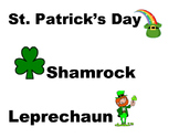 St. Patrick's Day Words