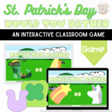 St. Patrick's Day Would You Rather: A Fun Virtual Party Ga