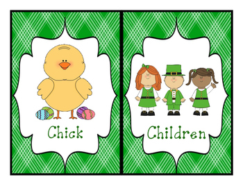 St. Patrick's Day Write-The-Room Ch-Digraph