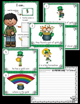 St. Patrick's Day Write the Room - Sentence Fix Edition