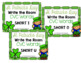 St. Patrick's Day Write the Room CVC Short Vowel BUNDLE