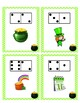 St. Patrick's Day Write the Room Domino Addition