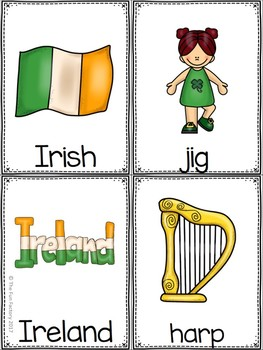 St. Patrick's Day Write the Room Kindergarten - 2 (Differentiated)