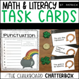 St. Patrick's Day Write the Room Task Cards