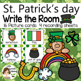 St. Patrick's Day Write the Room (in color and black/white)
