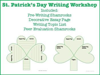 St. Patrick's Day Writer's Workshop